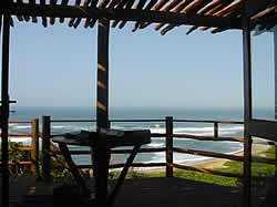 Chongoene Beach Resort is situated 3 kilometers north of Xai-Xai