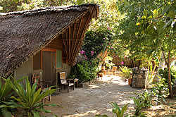 Pemba Magic Lodge offers budget accommodation as well as camp sites in Pemba.
