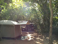 Phambuka resort camping and campsites in Ponya do Oura Mozambique