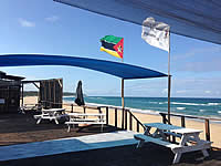 Paraiso do Ouro Resort for a holiday right on the beach