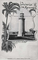 Rueben Point Lighthouse Mozambique