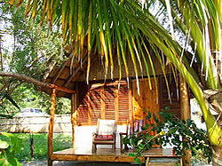 Beach budget accommodation in Mozambique