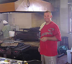 Louis Botha owner of Fishmonger