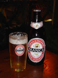 Manica  mozambique beer